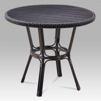 Zahradní stůl AZT-131 BK hnědá /černá Autronic