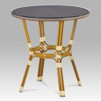Zahradní stůl AZT-101 CAP zlatá / cappuccino Autronic