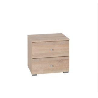 Noční stolek (2ks) MEXIM dub sonoma Tempo Kondela
