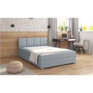 Boxpringová postel RIANA KOMFORT mentolová Tempo Kondela 140 x 200 cm