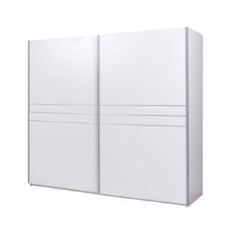 Šatní skříň s posuvnými dveřmi IKOMO bílá Tempo Kondela