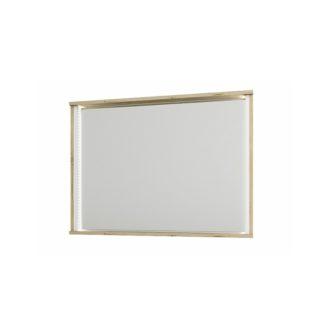 Zrcadlo LEIRA dub wellington / bílá Tempo Kondela