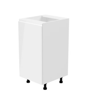 Spodní skříňka AURORA D40 - levá Tempo Kondela Bílá