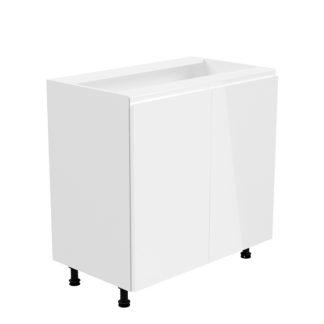 Spodní skříňka AURORA D80 Tempo Kondela Bílá