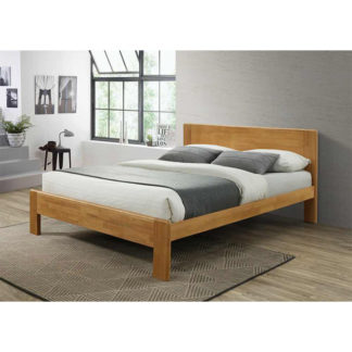 Manželská postel KABOTO dub Tempo Kondela 160 x 200 cm