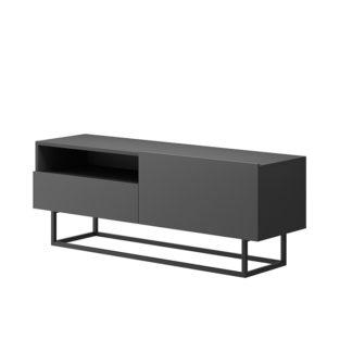RTV stolek bez podstavce SPRING ERTVSZ120 Tempo Kondela Grafit