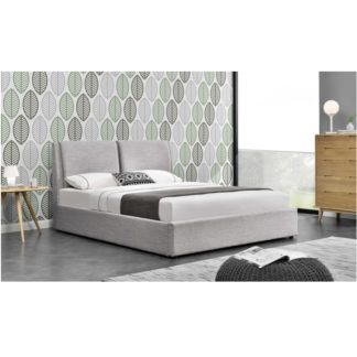 Manželská postel s úložným prostorem GULIA 2 NEW šedá Tempo Kondela 183 x 200 cm