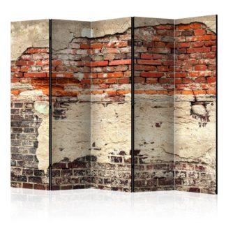 Paraván City History Dekorhome 225x172 cm (5-dílný)