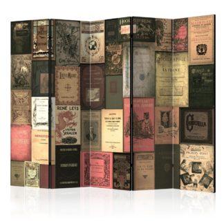 Paraván Books of Paradise Dekorhome 225x172 cm (5-dílný)