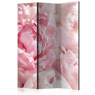 Paraván Sweet Peonies Dekorhome 135x172 cm (3-dílný)
