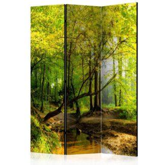 Paraván Forest Clearing Dekorhome 135x172 cm (3-dílný)