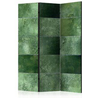 Paraván Green Puzzle Dekorhome 135x172 cm (3-dílný)