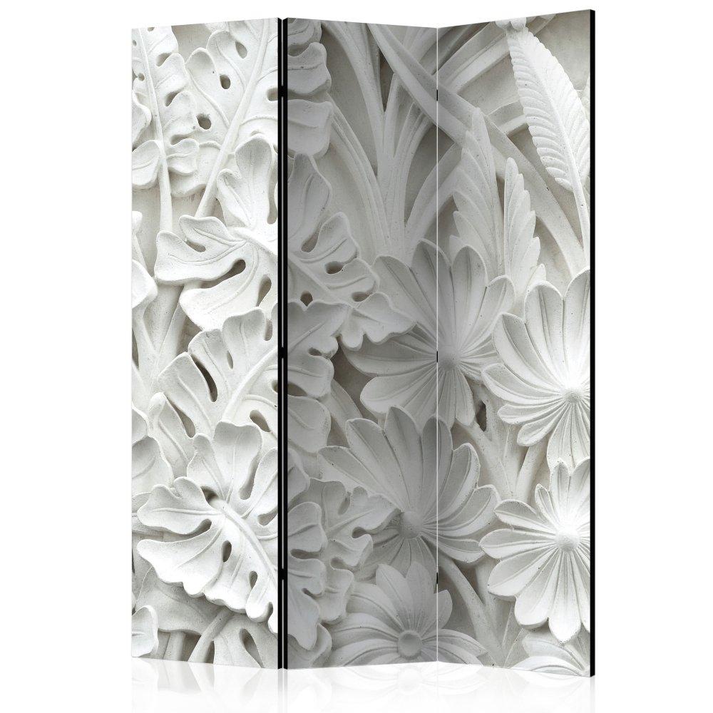 Paraván Alabaster Garden Dekorhome 135x172 cm (3-dílný)