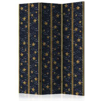 Paraván Lace Constellation Dekorhome 135x172 cm (3-dílný)
