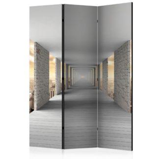 Paraván Skyward Corridor Dekorhome 135x172 cm (3-dílný)