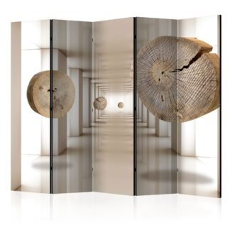 Paraván Futuristic Forest Dekorhome 225x172 cm (5-dílný)