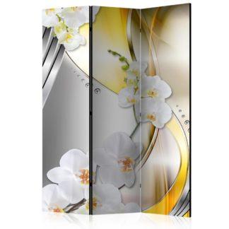 Paraván Yellow Journey Dekorhome 135x172 cm (3-dílný)