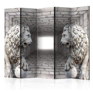 Paraván Stone Lions Dekorhome