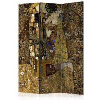 Paraván Golden Kiss Dekorhome 135x172 cm (3-dílný)