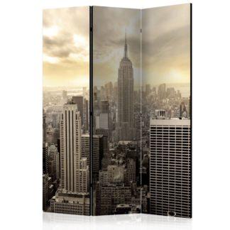 Paraván Light of New York Dekorhome 135x172 cm (3-dílný)