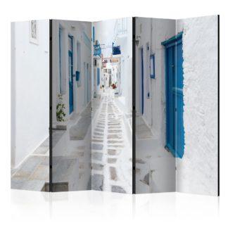 Paraván Greek Dream Island Dekorhome 225x172 cm (5-dílný)