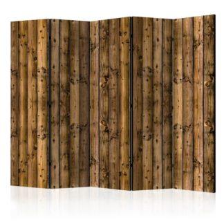 Paraván Country Cottage Dekorhome 225x172 cm (5-dílný)