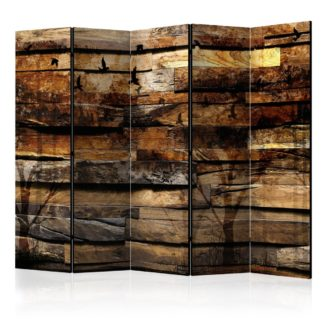 Paraván Reflection of Nature [Dekorhome 225x172 cm (5-dílný)
