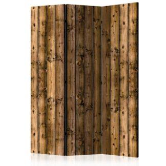 Paraván Country Cottage Dekorhome 135x172 cm (3-dílný)