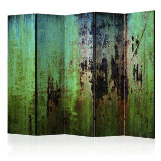 Paraván Emerald Mystery Dekorhome 225x172 cm (5-dílný)