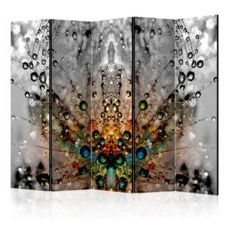 Paraván Enchanted Morning Dew Dekorhome 225x172 cm (5-dílný)