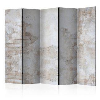 Paraván Stony Story Dekorhome 225x172 cm (5-dílný)