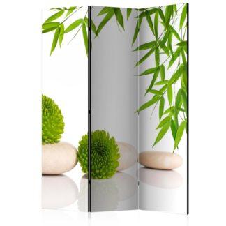 Paraván Green Relax Dekorhome 135x172 cm (3-dílný)