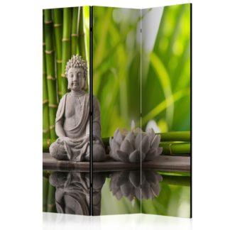Paraván Meditation Dekorhome 135x172 cm (3-dílný)