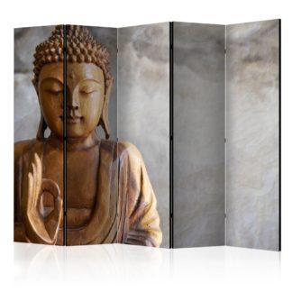 Paraván Buddha Dekorhome 225x172 cm (5-dílný)