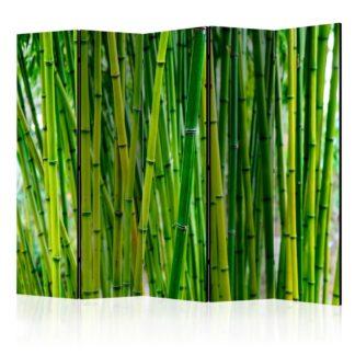 Paraván Bamboo Forest Dekorhome 225x172 cm (5-dílný)