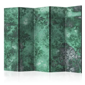 Paraván Emerald Memory Dekorhome 225x172 cm (5-dílný)