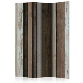 Paraván Wooden Fan Dekorhome 135x172 cm (3-dílný)