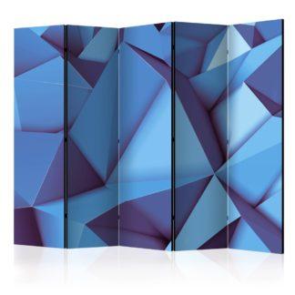 Paraván Royal Blue Dekorhome 225x172 cm (5-dílný)