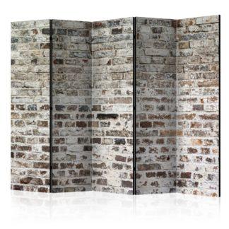 Paraván Walls of Time Dekorhome 225x172 cm (5-dílný)