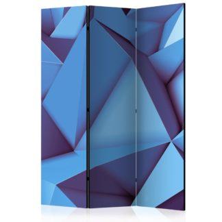 Paraván Royal Blue Dekorhome 135x172 cm (3-dílný)