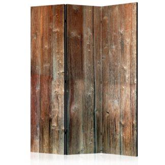 Paraván Forest Cottage Dekorhome 135x172 cm (3-dílný)