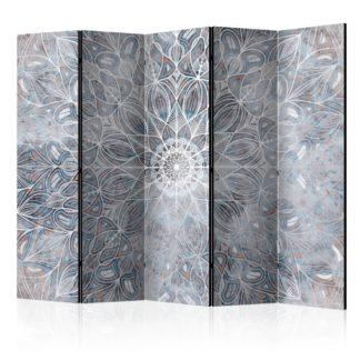 Paraván Blurred Mandala Dekorhome 225x172 cm (5-dílný)