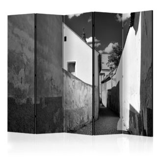 Paraván Narrow Street Dekorhome 225x172 cm (5-dílný)
