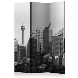 Paraván Skyscrapers in Sydney Dekorhome 135x172 cm (3-dílný)
