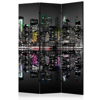 Paraván New York - My Dream Dekorhome 135x172 cm (3-dílný)