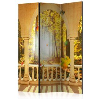 Paraván Dream About Autumnal Forest Dekorhome 135x172 cm (3-dílný)