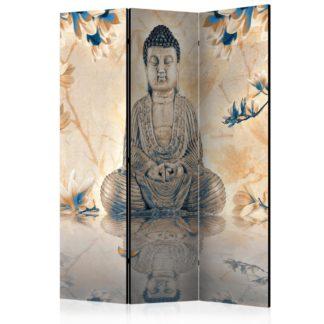 Paraván Buddha of Prosperity Dekorhome 135x172 cm (3-dílný)
