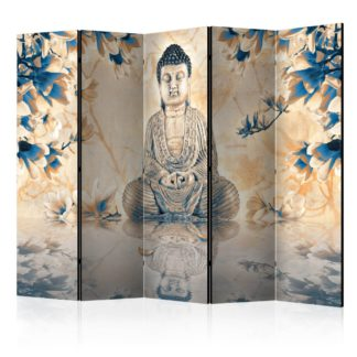 Paraván Buddha of Prosperity Dekorhome 225x172 cm (5-dílný)