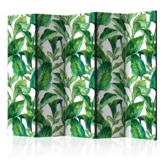 Paraván Tropical Paradise Dekorhome 225x172 cm (5-dílný)