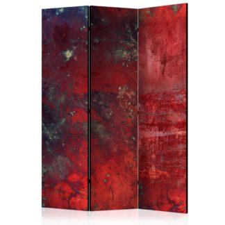 Paraván Red Concrete Dekorhome 135x172 cm (3-dílný)